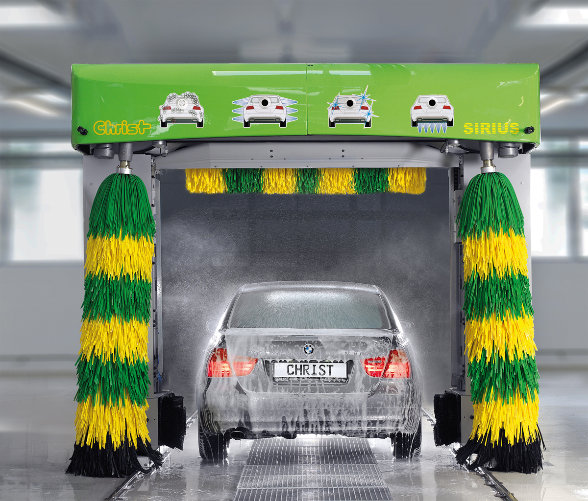 Car-Wash - Portique de lavage Christ Sirius