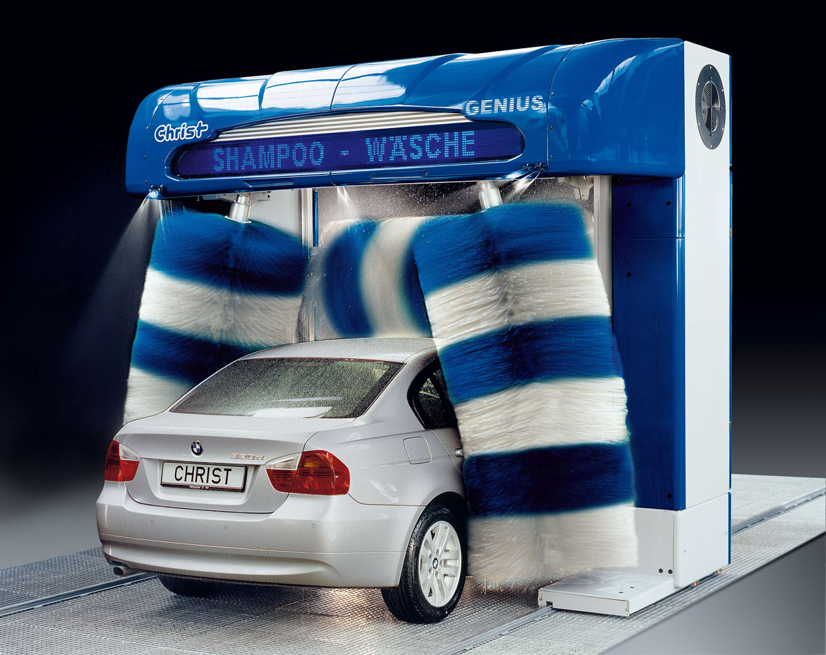 Car-Wash - Portique de lavage Christ Genius